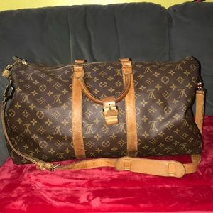 Louis Vuitton monogram keepall bandouliere